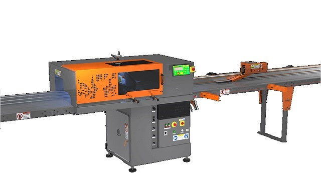 TIGERSTOP TSS-1000G2 OPTIMIZING AND DEFECTING CUT OFF SAW